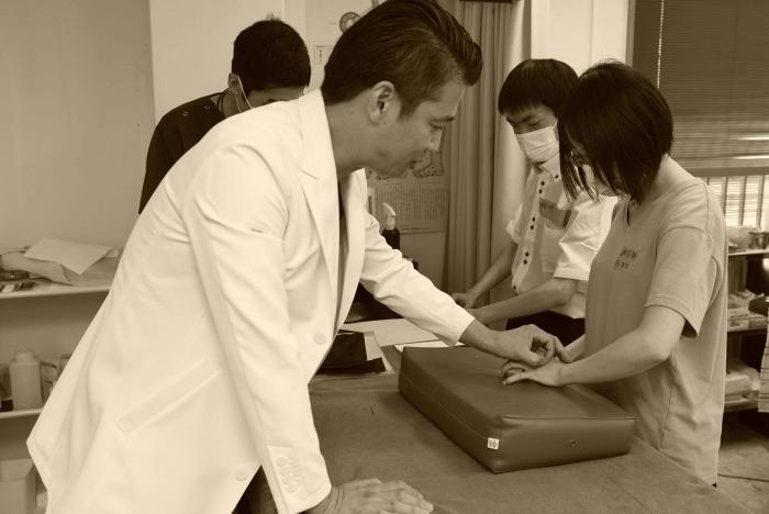 鍼灸の授業